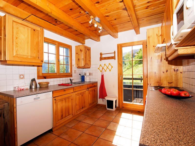 Аренда на лыжном курорте Chalet Alpina P12 - La Tzoumaz - Кухня