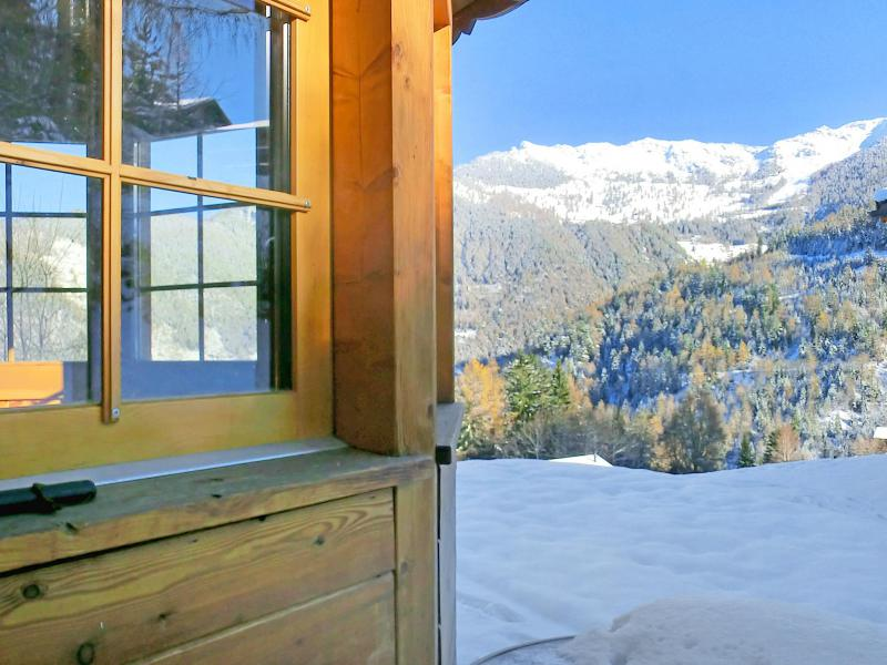 Vacanze in montagna Chalet Bellevue - La Tzoumaz - Esteriore inverno