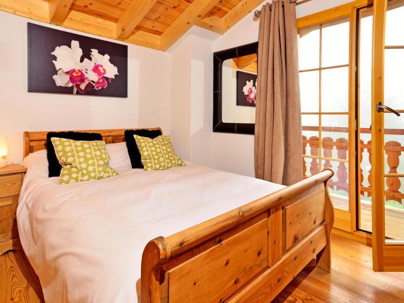 Location au ski Chalet Bellevue - La Tzoumaz - Chambre