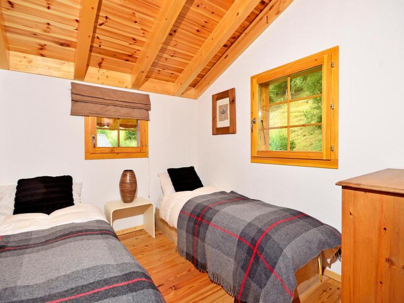 Location au ski Chalet Bellevue - La Tzoumaz - Chambre mansardée