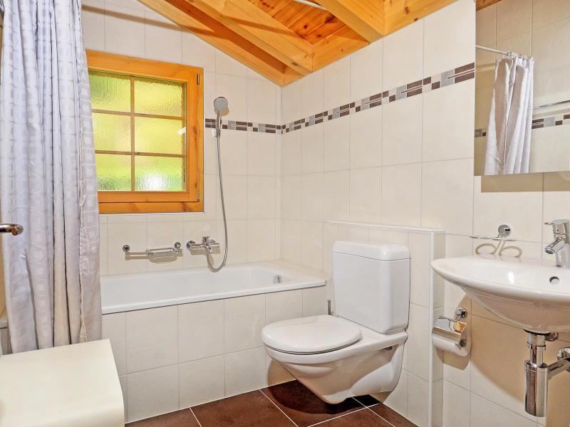 Location au ski Chalet Bellevue - La Tzoumaz - Salle de bains