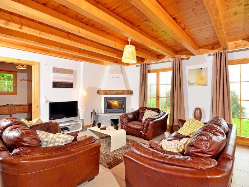 Location au ski Chalet Bellevue - La Tzoumaz - Séjour