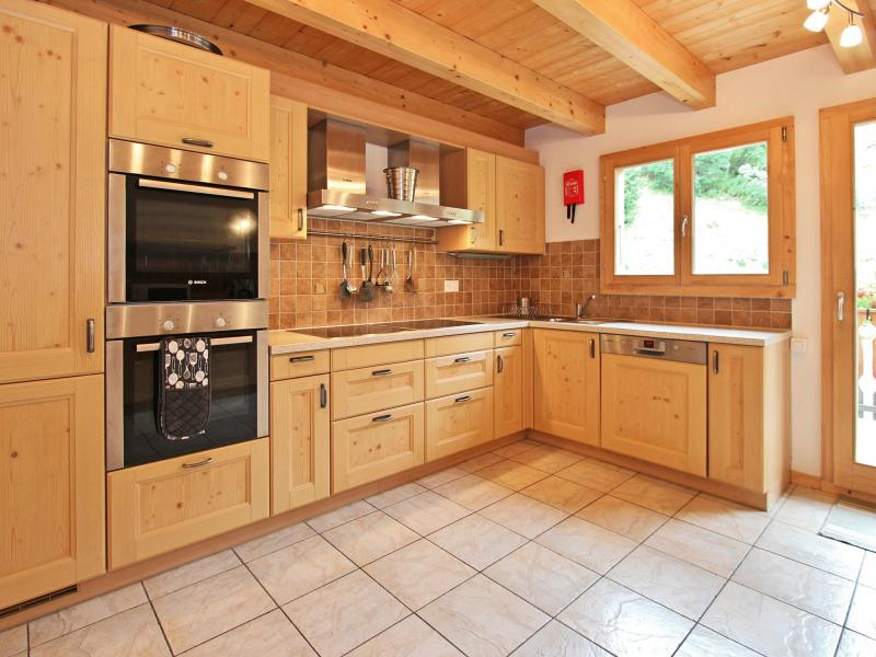Location au ski Chalet Charmille - La Tzoumaz - Cuisine ouverte