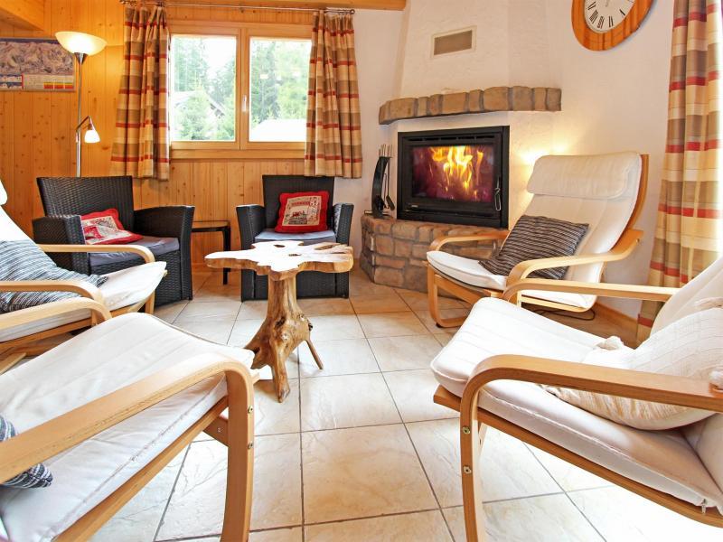 Аренда на лыжном курорте Chalet Charmille - La Tzoumaz - Салон