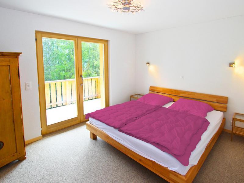 Location au ski Chalet Chaud - La Tzoumaz - Chambre
