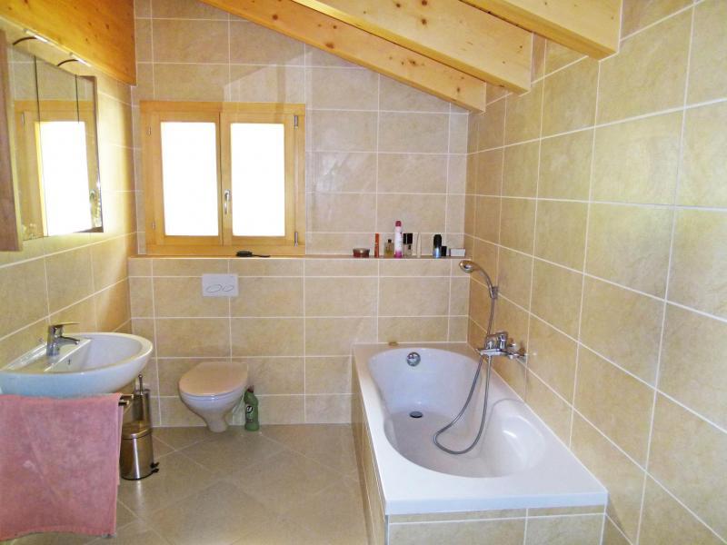 Location au ski Chalet Chaud - La Tzoumaz - Salle de bains