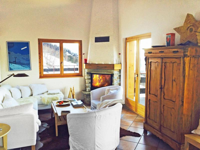 Location au ski Chalet Claire du Soleil - La Tzoumaz - Séjour