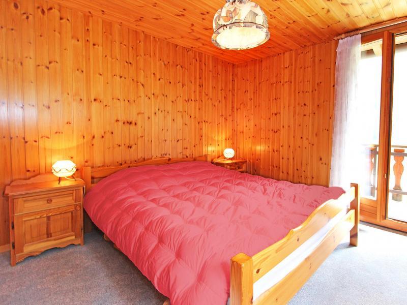 Location au ski Chalet de  - La Tzoumaz - Lit double