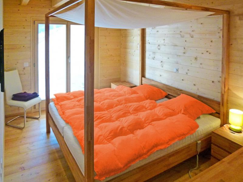 Location au ski Chalet Flocon de Neige - La Tzoumaz - Chambre
