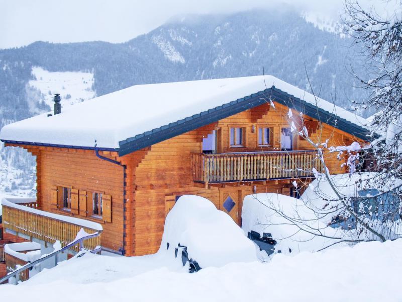 Location au ski Chalet Michelle - La Tzoumaz - Extérieur hiver