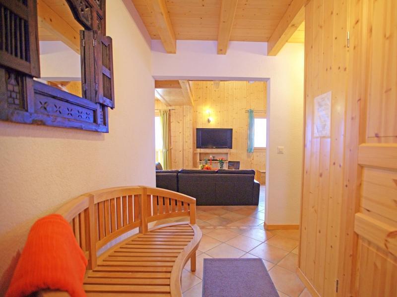 Аренда на лыжном курорте Chalet Michelle - La Tzoumaz - Телевизор с плоским экраном