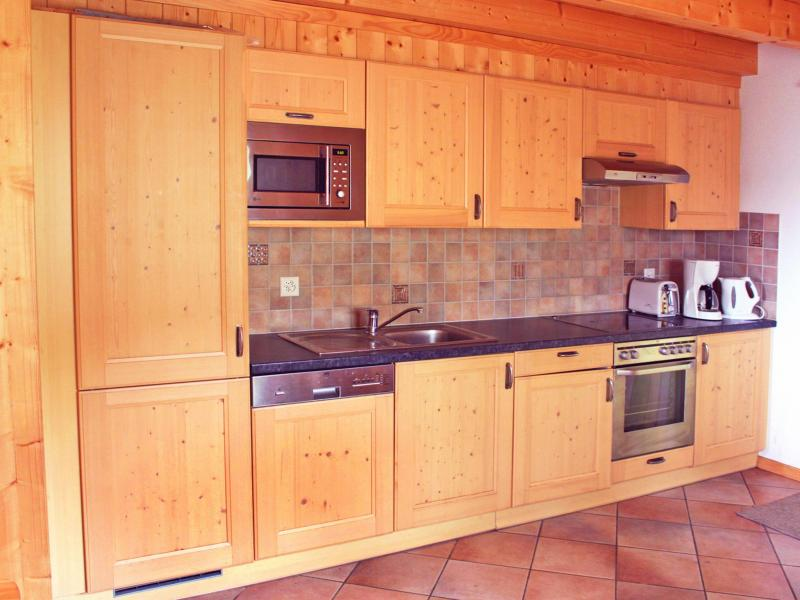 Аренда на лыжном курорте Chalet Michelle - La Tzoumaz - Кухня