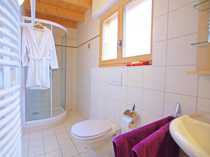 Location au ski Chalet Michelle - La Tzoumaz - Salle d'eau