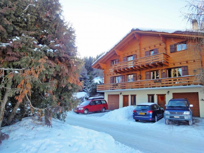 Vacanze in montagna Chalet Mouettes - La Tzoumaz - Esteriore inverno