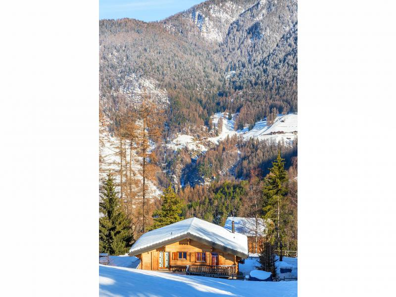 Rent in ski resort Chalet Pierina - La Tzoumaz - Winter outside
