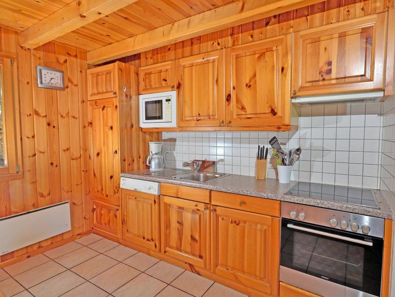 Location au ski Chalet Quatre Vallées - La Tzoumaz - Cuisine