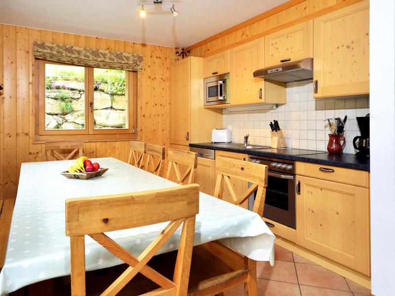 Location au ski Chalet Tanya - La Tzoumaz - Salle à manger