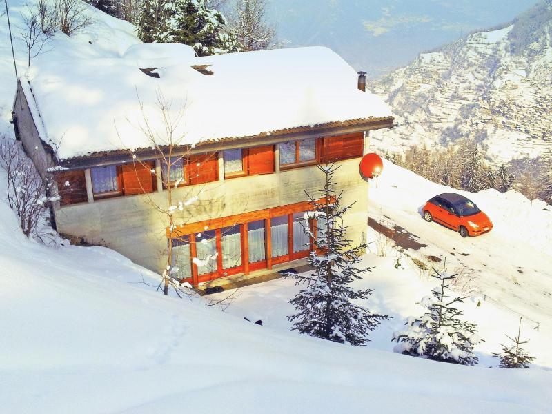 Location au ski Chalet Théo - La Tzoumaz - Extérieur hiver