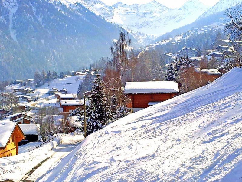Vacances en montagne Chalet Théo - La Tzoumaz - Extérieur hiver
