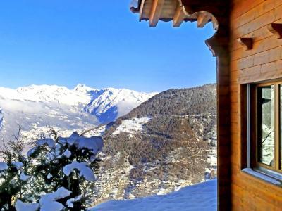 Vacances en montagne Chalet Alpina P12 - La Tzoumaz - Extérieur hiver