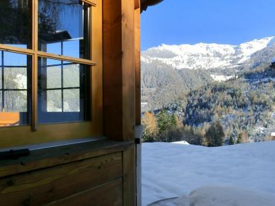 Location au ski Chalet Bellevue - La Tzoumaz - Extérieur hiver