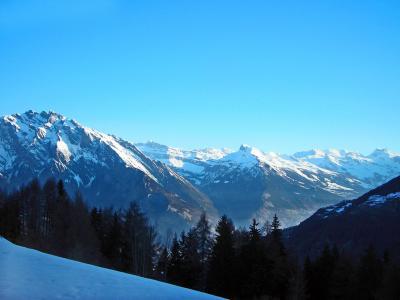 Vacances en montagne Chalet Charmille - La Tzoumaz - Extérieur hiver