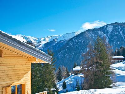 Аренда на лыжном курорте Chalet Chaud - La Tzoumaz - зимой под открытым небом