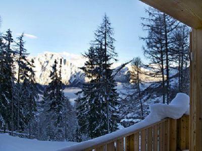 Location au ski Chalet duplex 6 pièces 11 personnes - Chalet Chaud - La Tzoumaz - Extérieur hiver