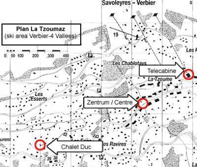 Location au ski Chalet Duc - La Tzoumaz - Plan