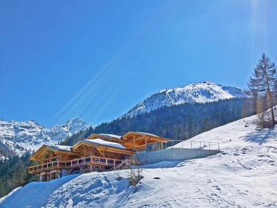 Vacances en montagne Chalet Flocon de Neige - La Tzoumaz - Extérieur hiver