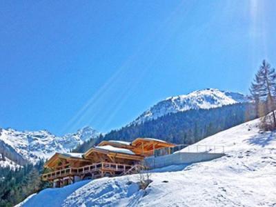 Location au ski Chalet 7 pièces 16 personnes - Chalet Flocon De Neige - La Tzoumaz - Extérieur hiver