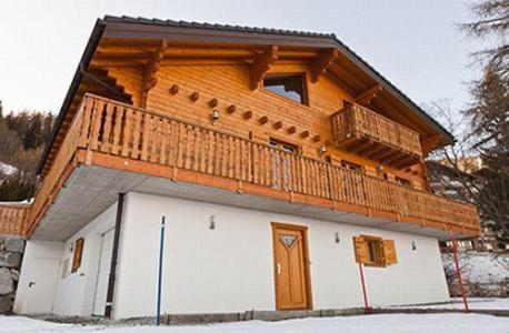 Location au ski Chalet 8 pièces 16 personnes - Chalet Harmonie - La Tzoumaz - Extérieur hiver