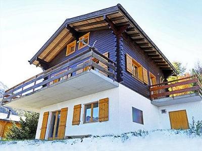 Location au ski Chalet Lange - La Tzoumaz - Extérieur hiver