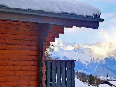 Location La Tzoumaz : Chalet les Etoiles hiver