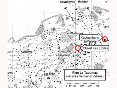 Location au ski Chalet les Etoiles - La Tzoumaz - Plan