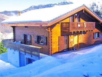 Location au ski Chalet les Etoiles - La Tzoumaz - Extérieur hiver