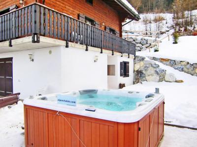 Vacances en montagne Chalet les Etoiles - La Tzoumaz - Extérieur hiver