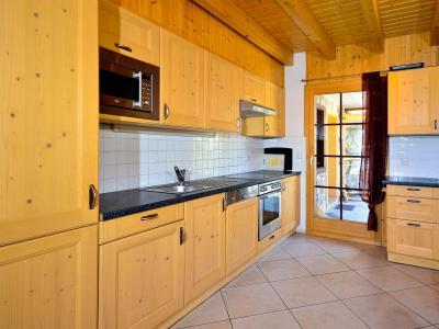 Аренда на лыжном курорте Chalet les Etoiles - La Tzoumaz - Кухня