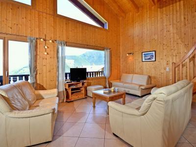 Аренда на лыжном курорте Chalet les Etoiles - La Tzoumaz - Салон