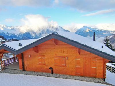 Vacances en montagne Chalet Maria - La Tzoumaz - Extérieur hiver