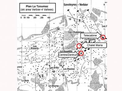 Location au ski Chalet Maria - La Tzoumaz - Plan