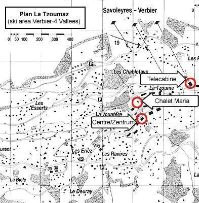 Location au ski Chalet 7 pièces 12 personnes - Chalet Maria - La Tzoumaz - Plan