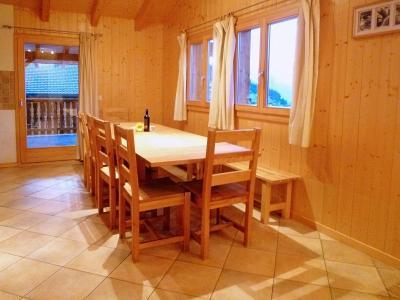 Location au ski Chalet Maria - La Tzoumaz - Salle à manger