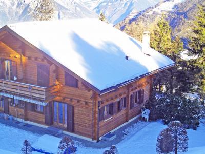 Location au ski Chalet Mouettes - La Tzoumaz - Extérieur hiver