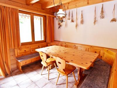Аренда на лыжном курорте Chalet Mouettes - La Tzoumaz - Столова&