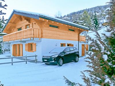 Location au ski Chalet Pierina - La Tzoumaz - Extérieur hiver