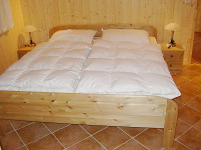 Location au ski Chalet 6 pièces 10 personnes - Chalet Pierina - La Tzoumaz - Lit armoire 2 personnes