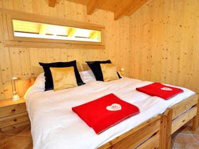 Location au ski Chalet Pierina - La Tzoumaz - Chambre mansardée
