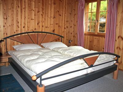 Location au ski Chalet duplex 5 pièces 8 personnes - Chalet Quatre Vallees - La Tzoumaz - Lit double