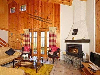 Location au ski Chalet Quatre Vallees - La Tzoumaz - Séjour